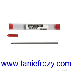 Frez grawerski do aluminium i mosiądzu ZEC - ARX - PSF